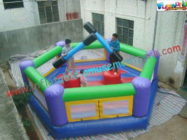 2015 Inflatable Interactive Joust Arena, Inflatable Jousting Sport Game For Kids