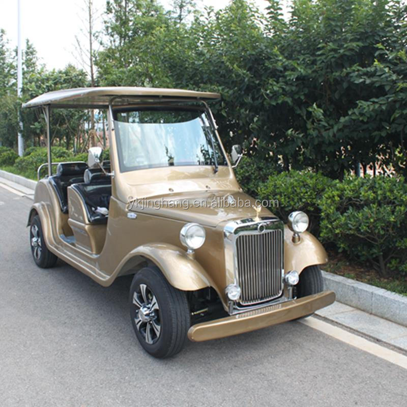 Electric Two Seater Sightseeing Club Car Electric Garden Golf Cart