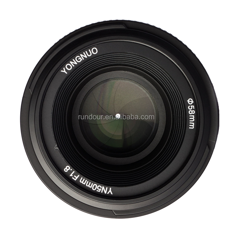 professional yongnuo yn50mm F1.8-large aperture auto focus lens for Nikon camera