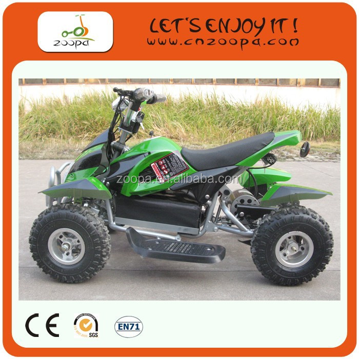 ZP-EATV-9047 cheap mini 1000w electric atv for kids four wheel quad bike