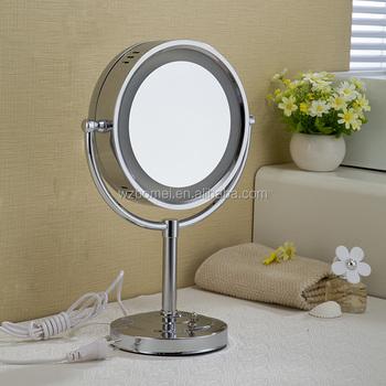 Hot sale beauty table decorative led lighting hair salon for Salon table and mirror