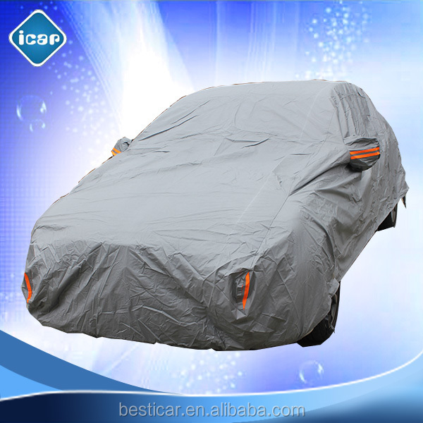 Heavy Duty Aluminum Foil+ PP Cotton 100% UV Protection Car Cover