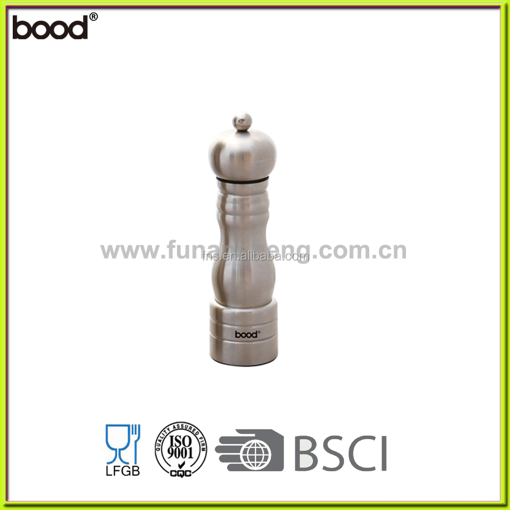 whole stainless steel body/salt and pepper grinder/NEW ITEM/classical design