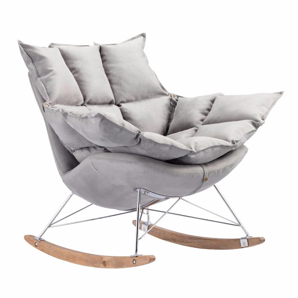Venta al por mayor sillas mecedoras de jardin en hierro-Compre ...