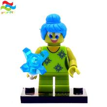 6 pcs lot Inside Out Anger Fear Discust Sadness Kid Baby Toy Child Gift Building Blocks