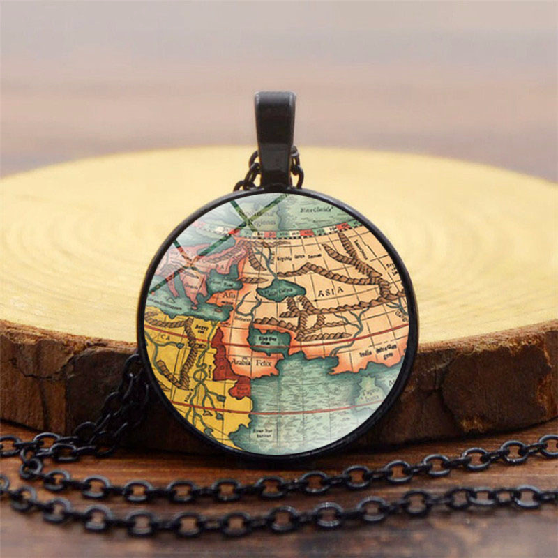 Art glass round world map globe necklaces earth world map statement art glass round world map globe necklaces earth world map statement necklace buy map statement necklaceworld map statement necklaceglobe necklaces gumiabroncs Image collections