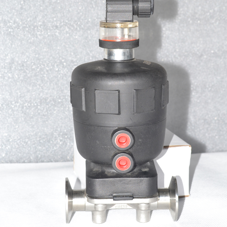 2016 hot sale sanitary food grade air diaphragm control valve epdm 10 bar