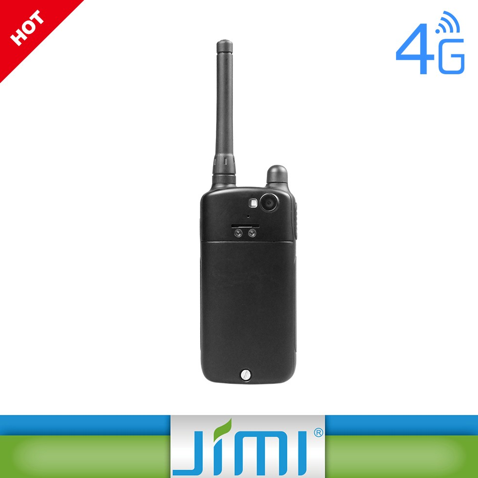 Jimi 4G 3G gsm walkie talkie GPS wifi bluetooth SOS APK Poc 4g walkie talkie de rádio GSM telefone ip67 walkie talkie telefone robusto