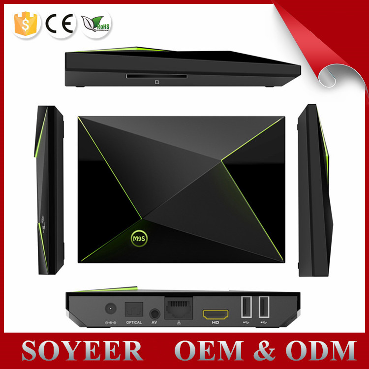 Soyeer TV Box M9S Z8 Android TV Box 2G 16G Amlogic S905X Android 6.0 TV bOX M9S Z8