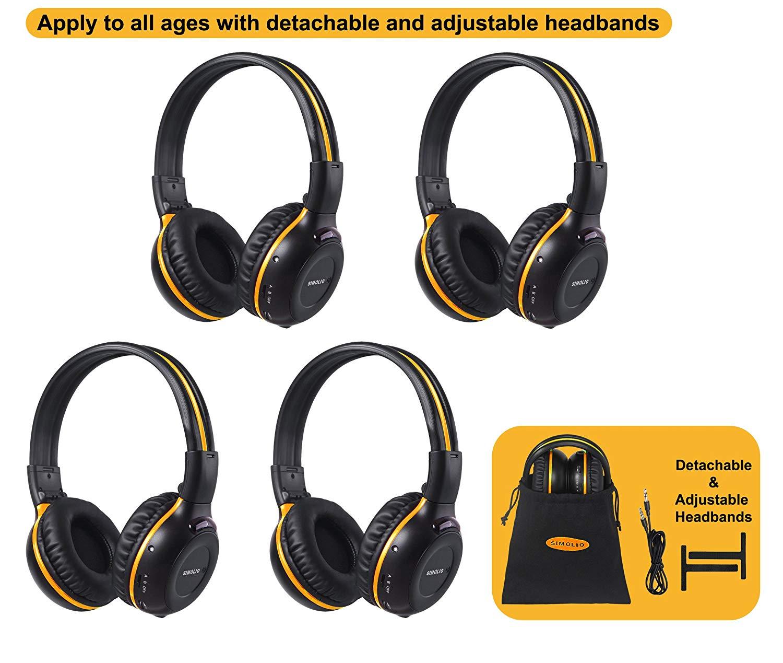sold in singles Veba AVHEAD2IR Dual Channel Infra Red I R Wireless Headphones