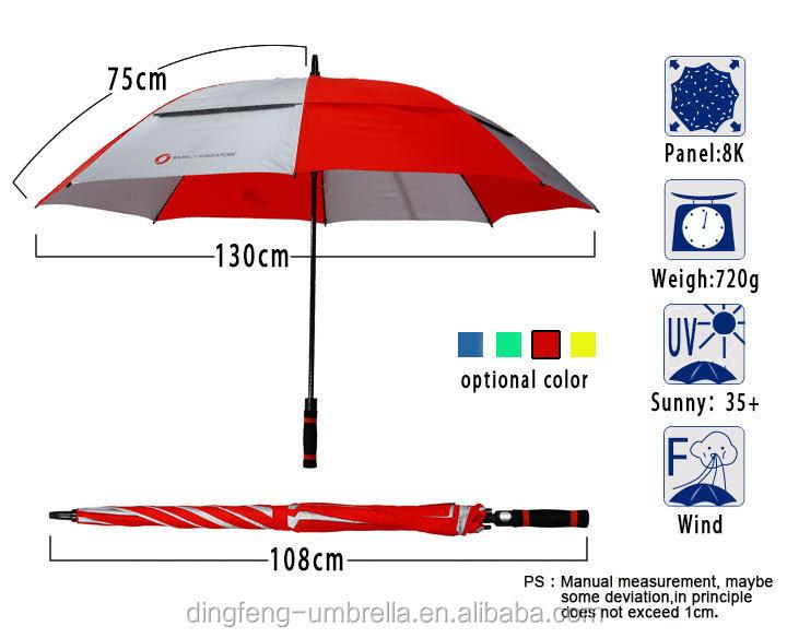 high quality seamless splice print golf umbrella with air. Black Bedroom Furniture Sets. Home Design Ideas