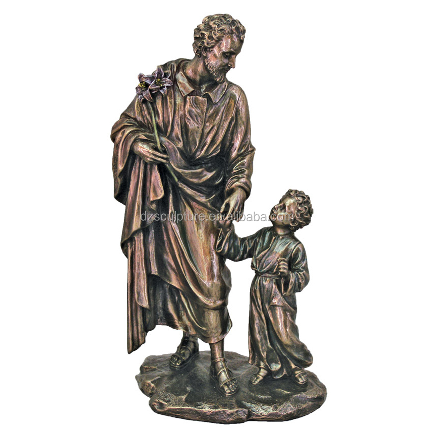 famous jesus and child christ bronze statue for sale