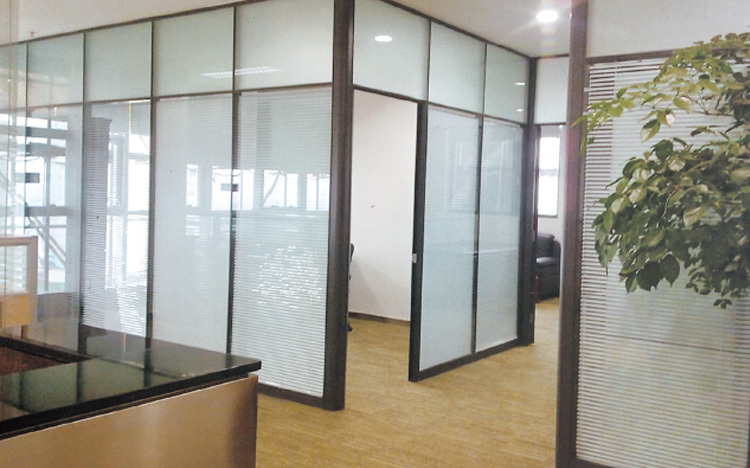aluminium frame used office glass partition wall buy