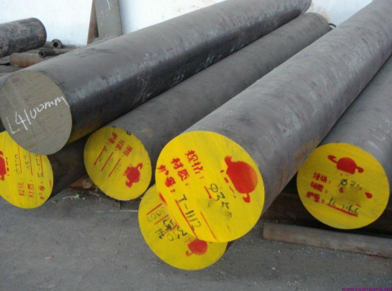 Stokçusu Yapısal Alaşımlı Çelik DIN1.6582 34CrNiMo6 EN24 çelik yuvarlak çubuk