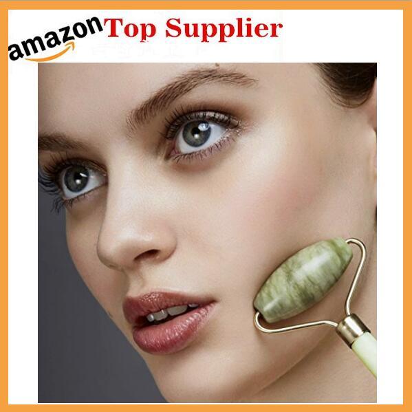 Amazonベストセラーヒスイローラー医療機器グリーンヒスイ顔マッサージローラー