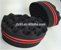 Magic Double Side Big 8/Oval Shaped Hair Brush Sponge/Twist Curl Sponge