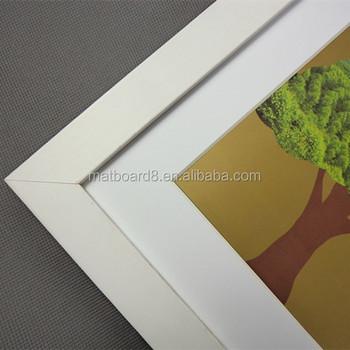 White Large Frames Wood Floating Frame China Wood Frames - Buy Wood ...