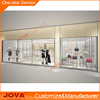 Fashion retail clothing racks shop fitting store fixture kiosk for clothing showcase
