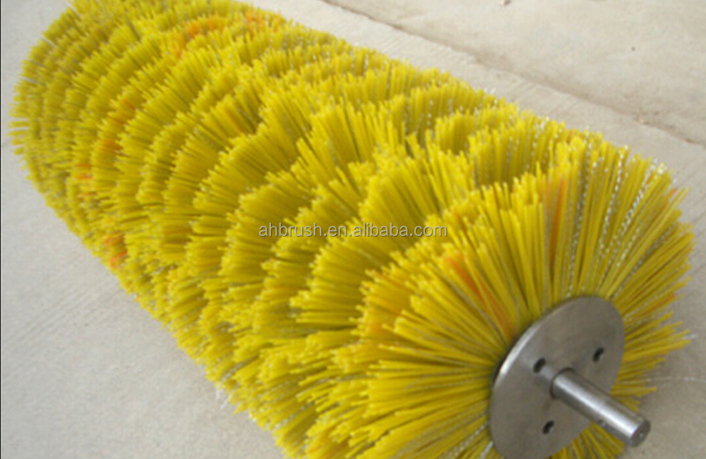 Lawn Bristle Broom Gas Powered Broom Sweeper Rotating