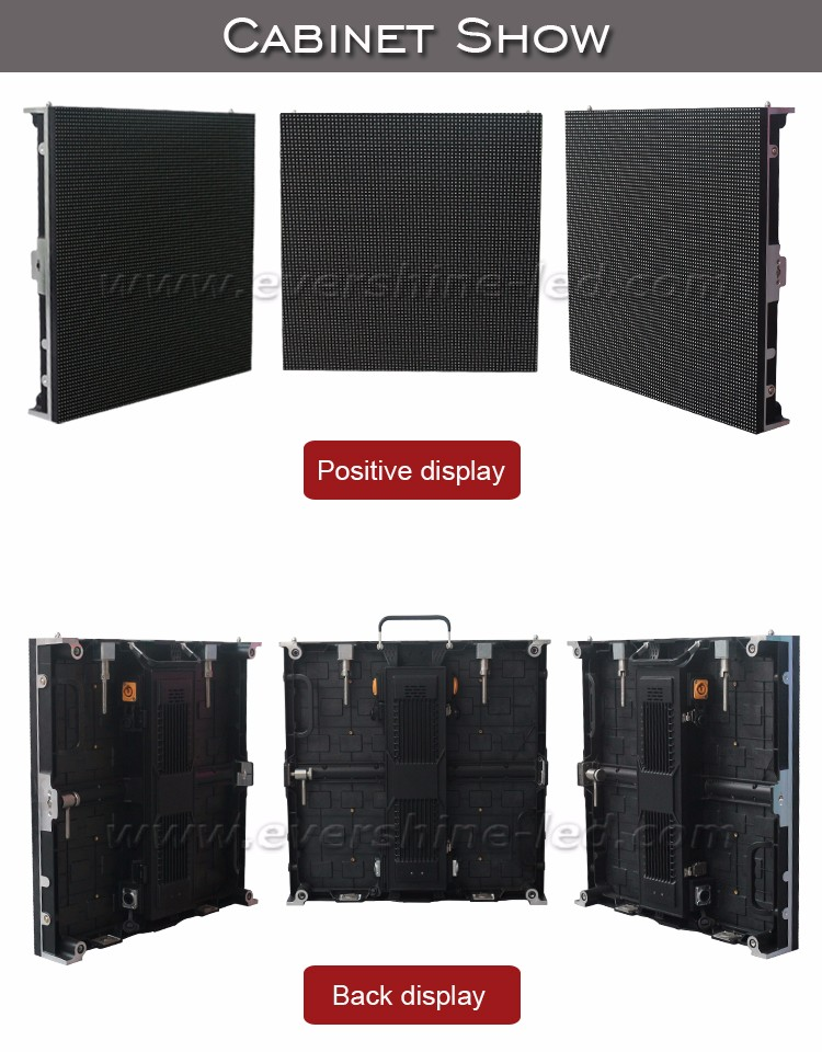 best sell aluminum cabinet led video wall P5.95