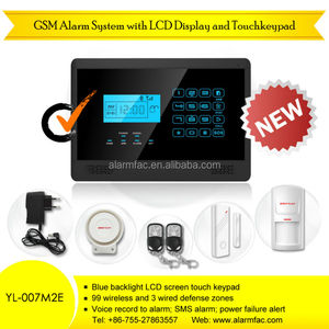 Wireless GSM alarm system with Reliable home security system!Home intruder alarm system with APP Store +Google play