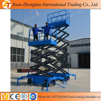 4ton 5 Ton 8 Ton Mobile Electric Hydraulic Scissor Lift Table Work Platform  Aerial Aluminum Lift - Buy Mobile Hydraulic Electric Car,Electric Car