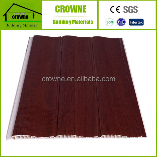 TKT PVC panel for roof decoration and wall panel pvc casement panel