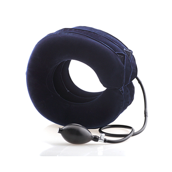 ZHIZIN China Manufacturer Home Medical Equipment 3 Layers Air Neck Traction Relive Pain Cervical Neck Traction Device