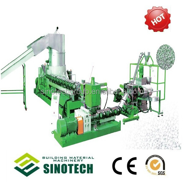 Two Stage Recycling and Granulation Machine