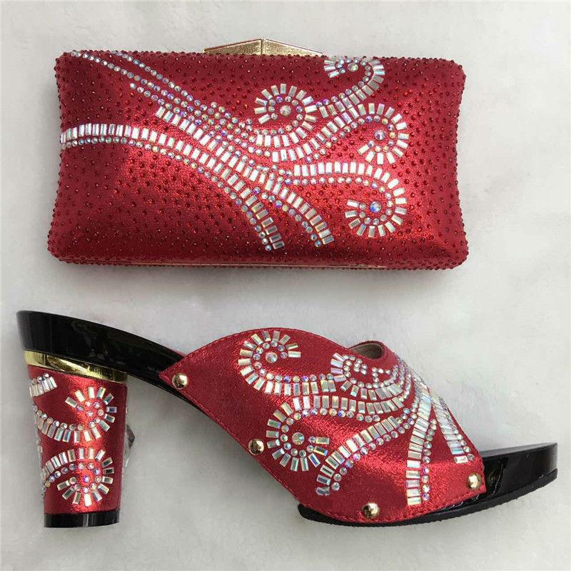 Bag blue Women Rhinestones Evening Bag sky Wedding Shoes Set Matching Slingback And Shoes q6EAT