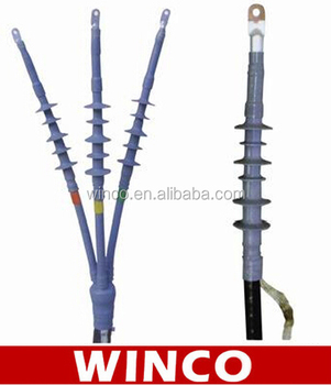 High voltage cable termination seems