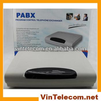 China Pabx Manufacturer Supply Advanced Soho Pbx Vintelecom Cp208 ...