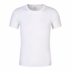 Cotton fabric blank custom printing logo t shirt