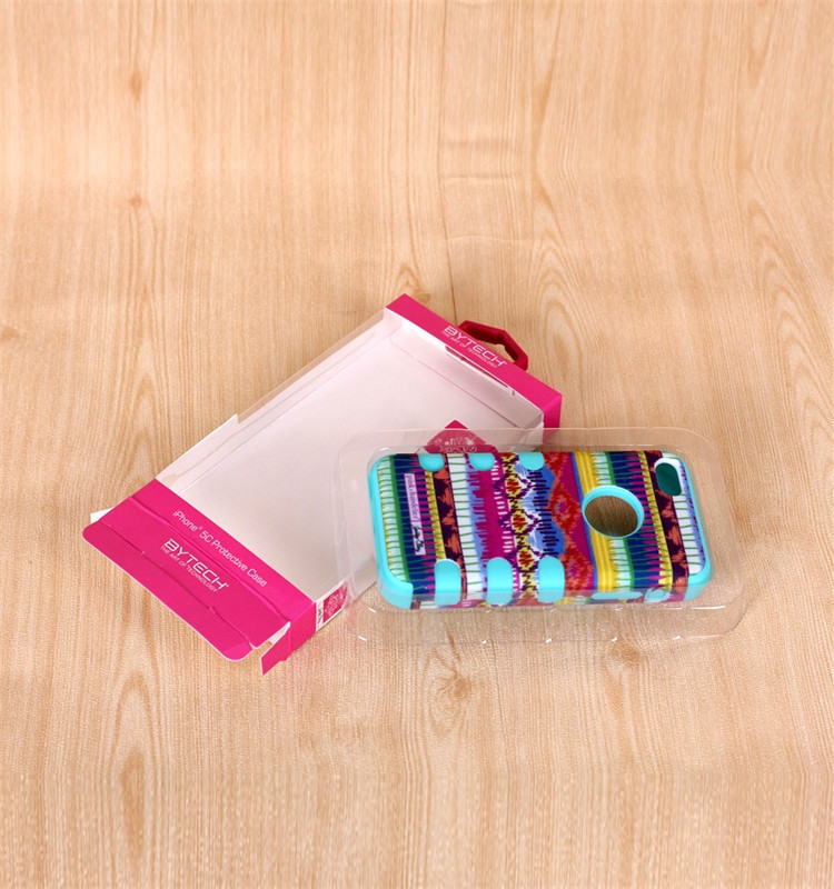 Custom cell phone case packaging paper box