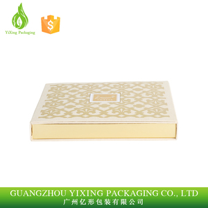 High quality custom PU leather chocolate box with bookbinding cloth/ chocolate packaging box