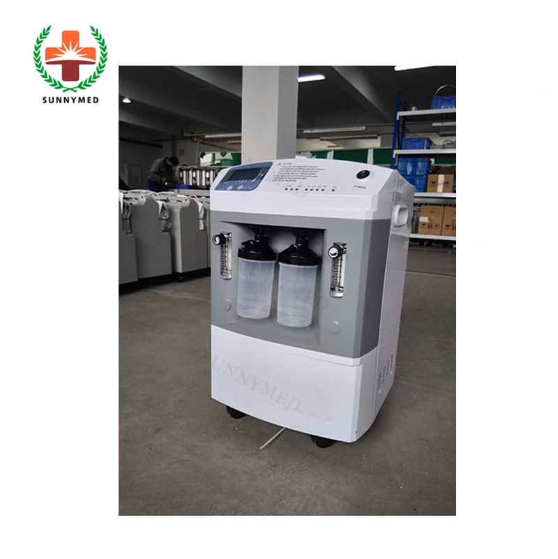 SY-I061 Medische Draagbare Dual Flow Zuurstofconcentrator met CE/ISO