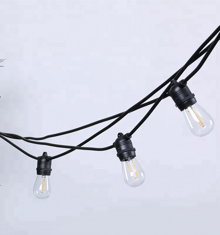 Decorative Outdoor String Lights Modern Holiday Lighting Commercial Grade Christmas