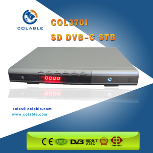 Cheap digital cable tv sd set top box with free CAS and SMS support COL370i