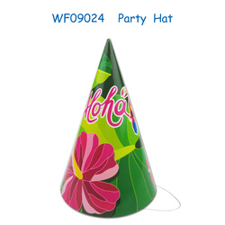 ALOHA bachelorette party decorations set custom cap hat paper hat plastic hat