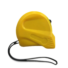 High Quality ABS Case Rubber Grip easy to use round retractable tape measure
