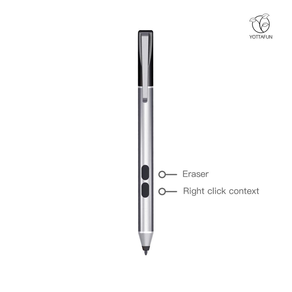 Long time battery life 1024 pressure levels slim stylus pen stylus tip without drive