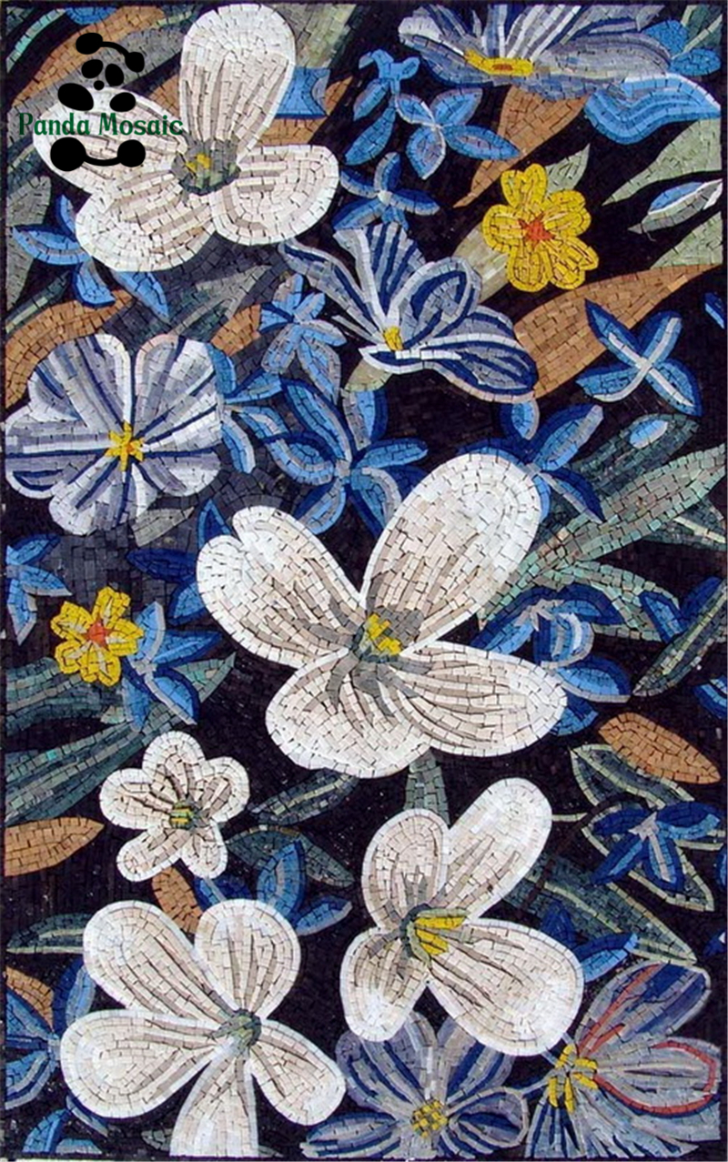 fc-gm24 hotel wall mural mosaic hand made wall murals decorative