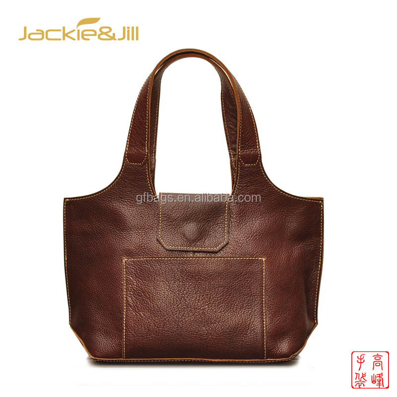 GF-Z101 Unique Vest Shape Mini Vintage Leather Hand Bag Shoulder Bag for Ladies