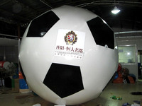 Custome Inflatable Advertising Soccer Football Model Inflatable Balloon