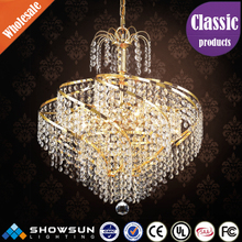 Wholesale made in China wonderful wedding tent crystal chandeliers