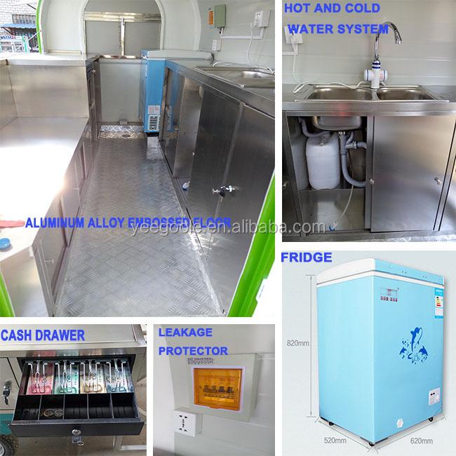 Yeegoole Food Cart Manufacture Philippines Teppanyaki