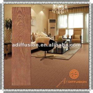 matte surface wood look ceramic floor tile porcelain made in china