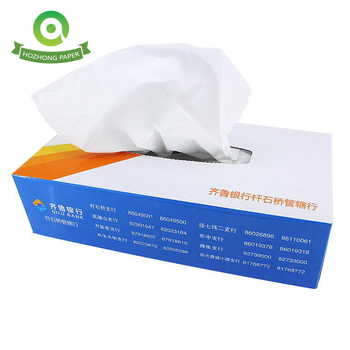 Promotional Box Facial Tissue, 2 ply, 100 Sheets