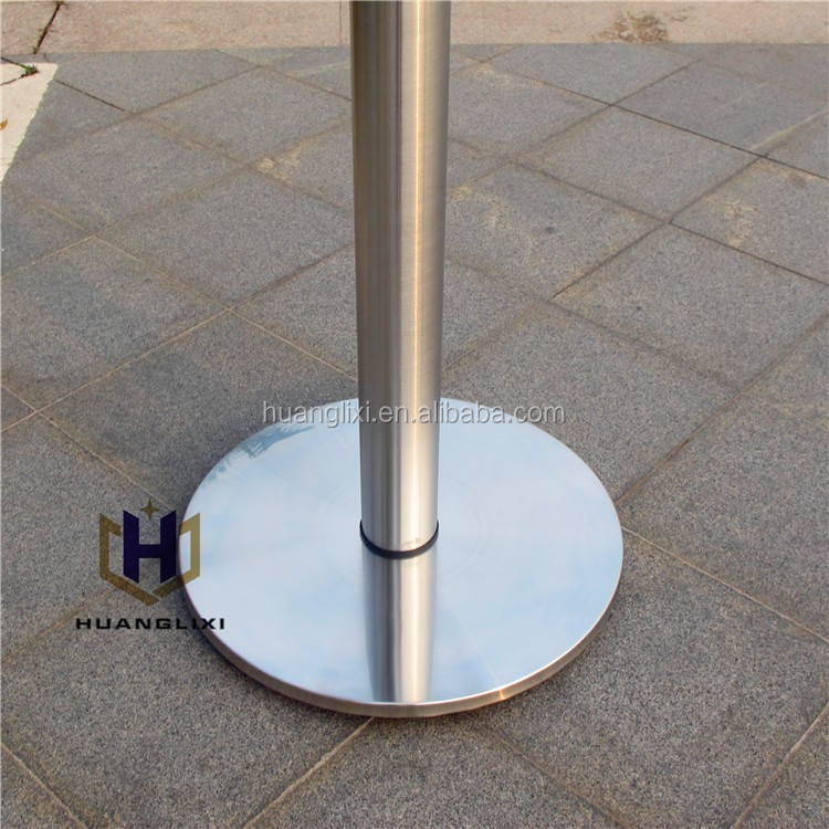 S9001 1 Titanium Black Round Stainless Steel Dining Brass Table Base, Stainless  Steel Table