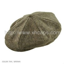 2012 Men's fashion newsboy caps